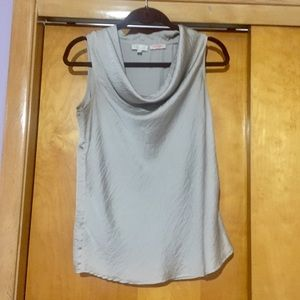 The Limited Scandal Cowl Neck Shell